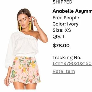 Annabelle Asymmetrical Top